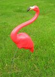 lawn flamingo poster