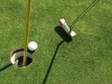 sinking the putt poster