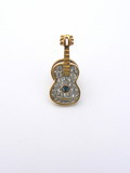 guitar pin brooch poster