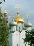 novodevichy convent in moscow poster
