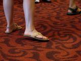 sandal feet poster