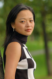 oriental woman poster