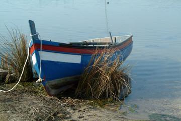 boat in the edge