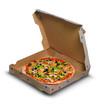 pizza carton legumes