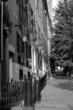 black and white row houses beacon hill boston