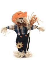 handmade scarecrow
