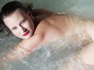 girl in bath 3