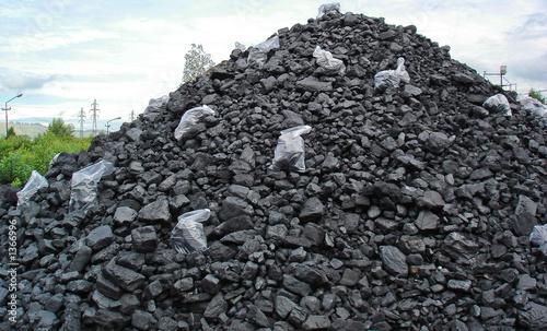 coal pile - 1366996