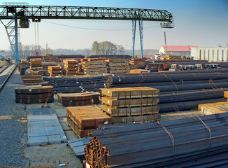 storage of steel products