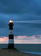lighthouse in the dusk - 1372946