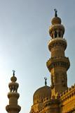 mosque minaret at sunset poster