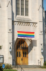 church welcoming gay to the congregation