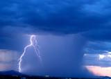 arizona monsoon 2006: approaching storm poster