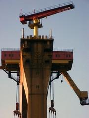 giant shipping crane