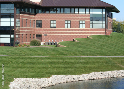 canvas print picture commercial office building