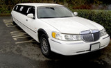 stretch limo limousine big car poster