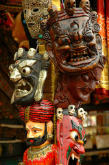 decorative traditional masks