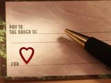 valentine funding poster