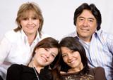 latin american family poster