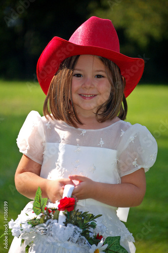 country flower girl