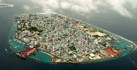 male, the most densely populated city in the world