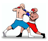 boxing- knockout  punch poster