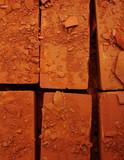 damaged bricks poster