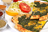 turkish pide - spinach poster