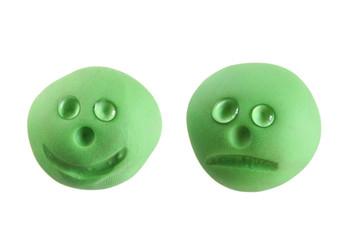 happy / sad smiley