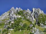mountain scenery in scandinavia poster