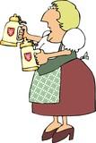 german beer maiden poster