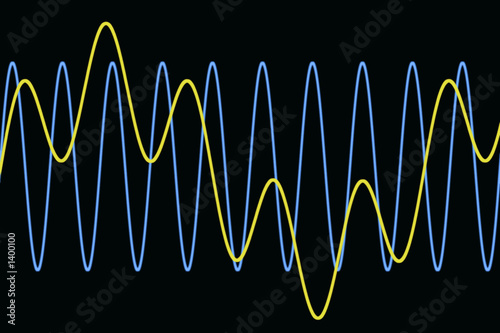 harmonic waves diagram, background