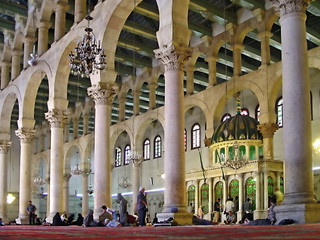 the omayyad mosque - damascus, syria.