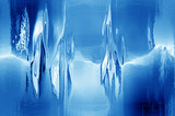 melting iceblock poster