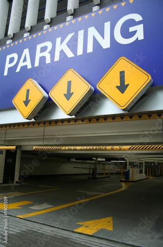parking entrance - 1403509