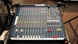 sound equipment. mixing desk.sound control unit poster