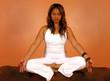 yoga meditative lotus pose