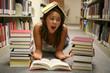 student overwhelmed
