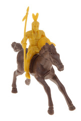 toy indian brave on horse