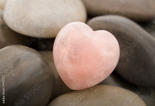 Poster, Tablou rose quartz heart