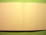 blank note pad poster