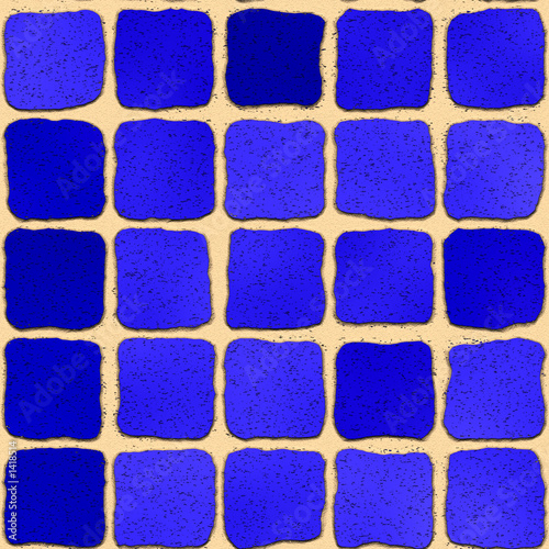 texture from a dark blue tile