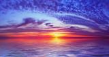 fantastic bay sunset poster