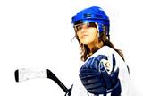hockey girl poster