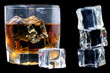 whiskey con hielo