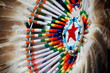 canvas print picture - native american