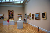 art gallery with old masters poster