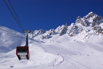 ski resort view
