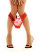 Quadro red panties