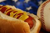 all american hotdog poster